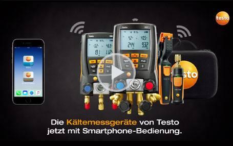Smarte Kältemesstechnik von Testo: Produktvideo