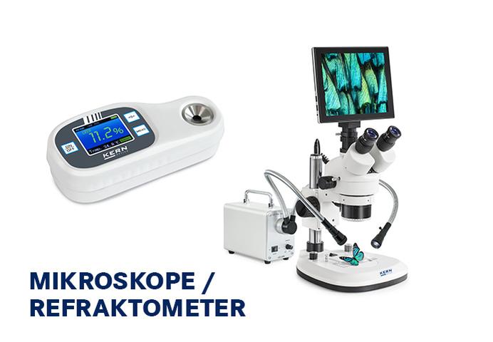 Mikroskope / Refraktometer