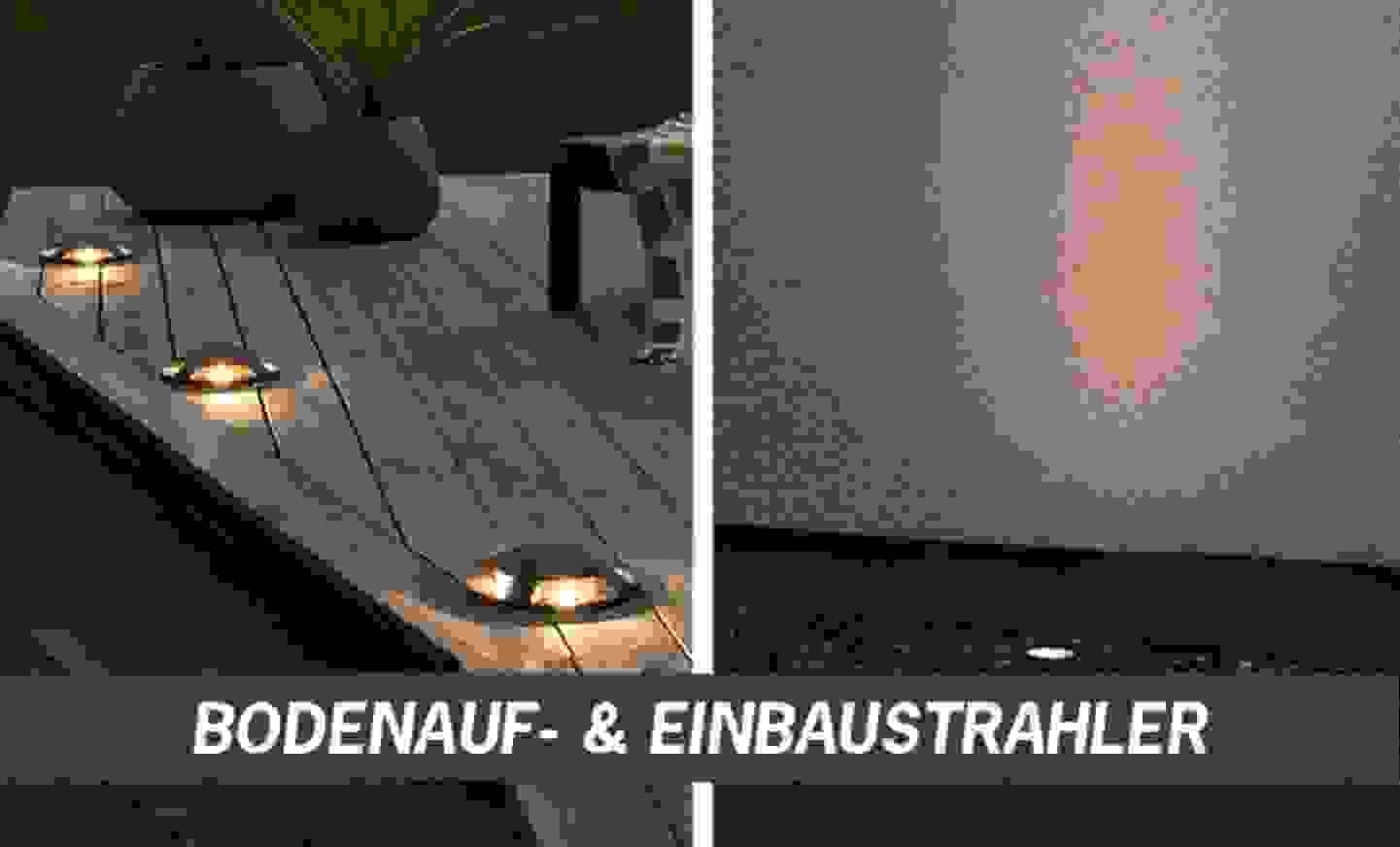 Bodenauf- & Einbaustrahler