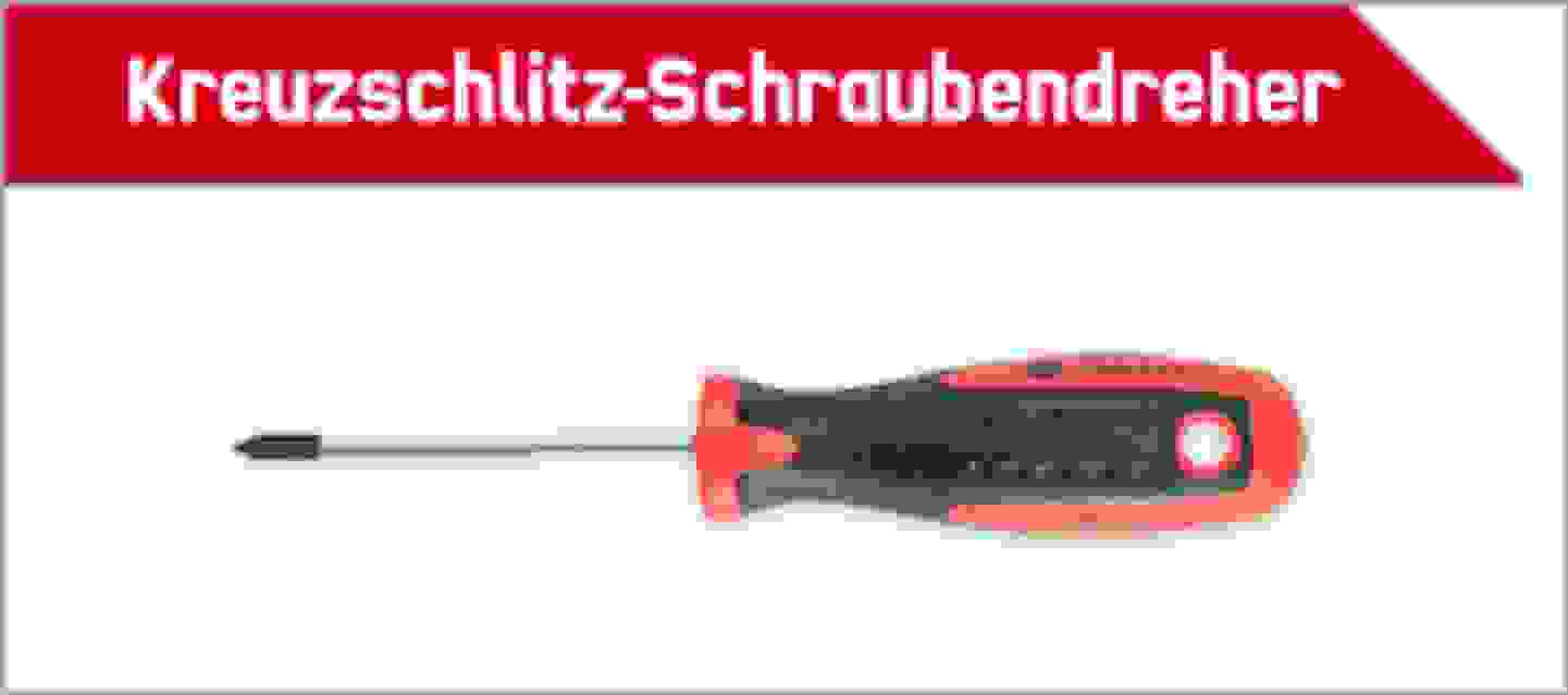TOOLCRAFT Kreuzschlitz Schraubendreher