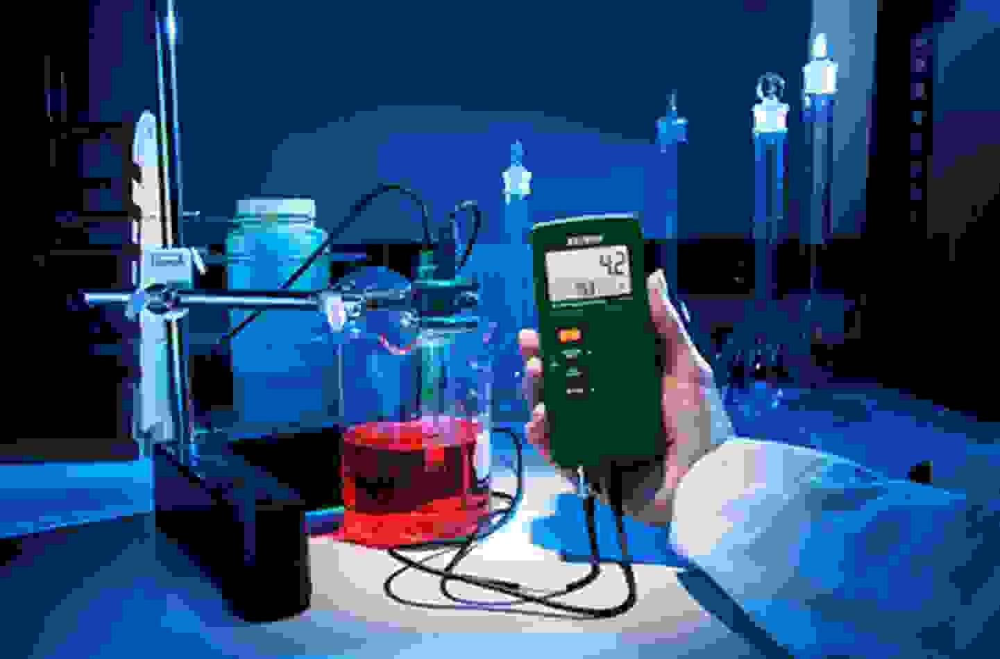 Labor und Wasserqualität