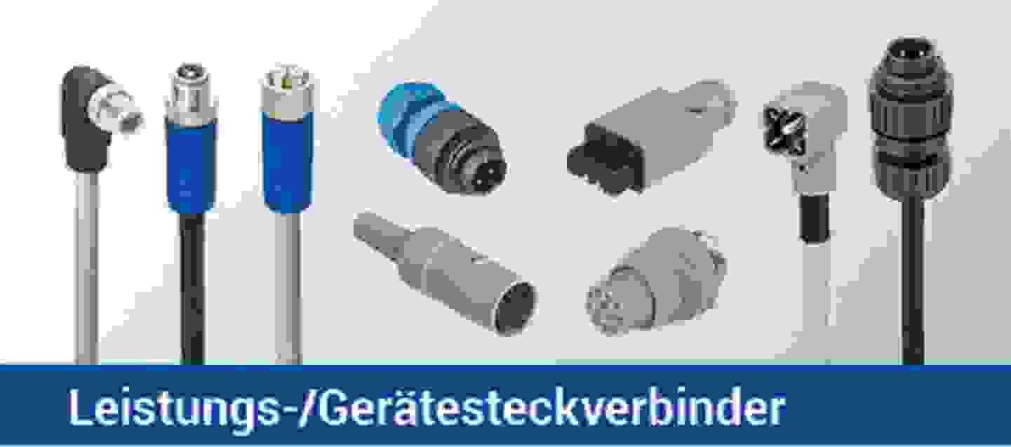 Leitungs-/ Gerätesteckverbinder