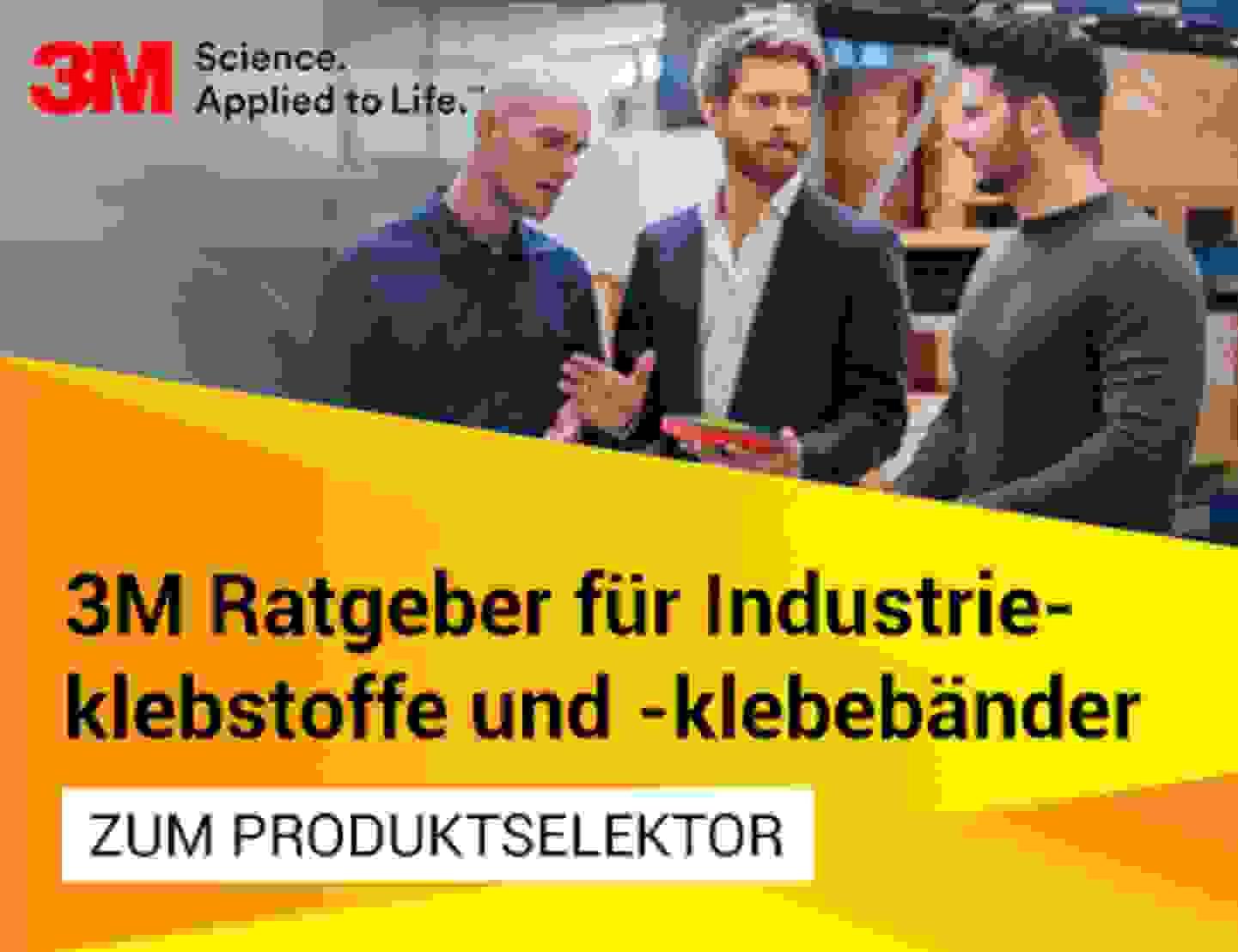 Industrieklebstoffe und -klebebänder Produktselektor