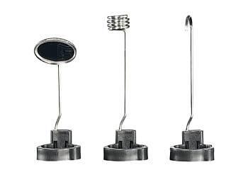 Spiegel-, Magnet- und Hakenaufsatz als Erweiterung am Endoskop
