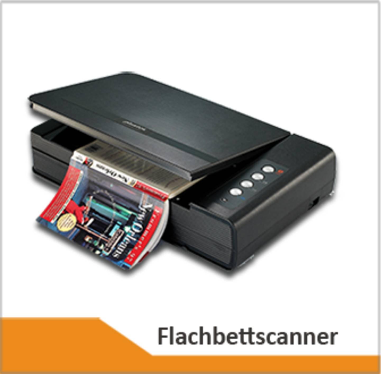 Flachbettscanner