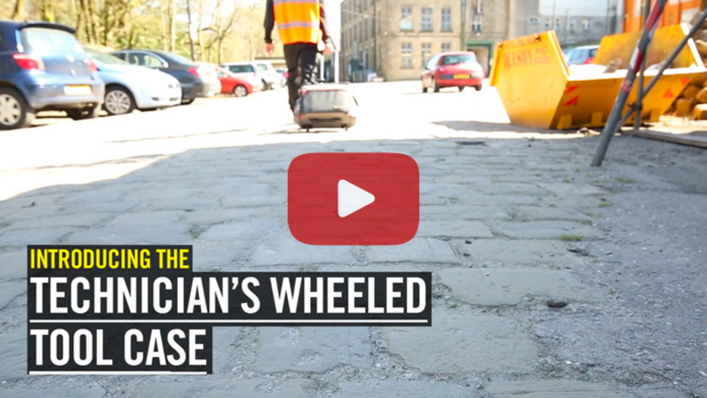 Technician's Wheeled Tool Case