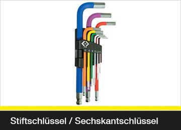 Stiftschlüssel / Sechskantschlüssel
