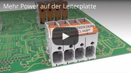 Mehr Power auf der Leiterplatte