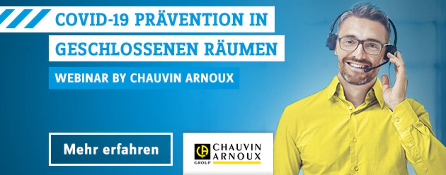 Chauvin Arnoux Webinar