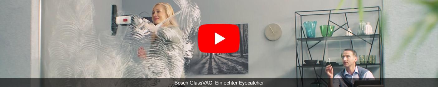 Bosch GlassVAC: Ein echter Eyecatcher