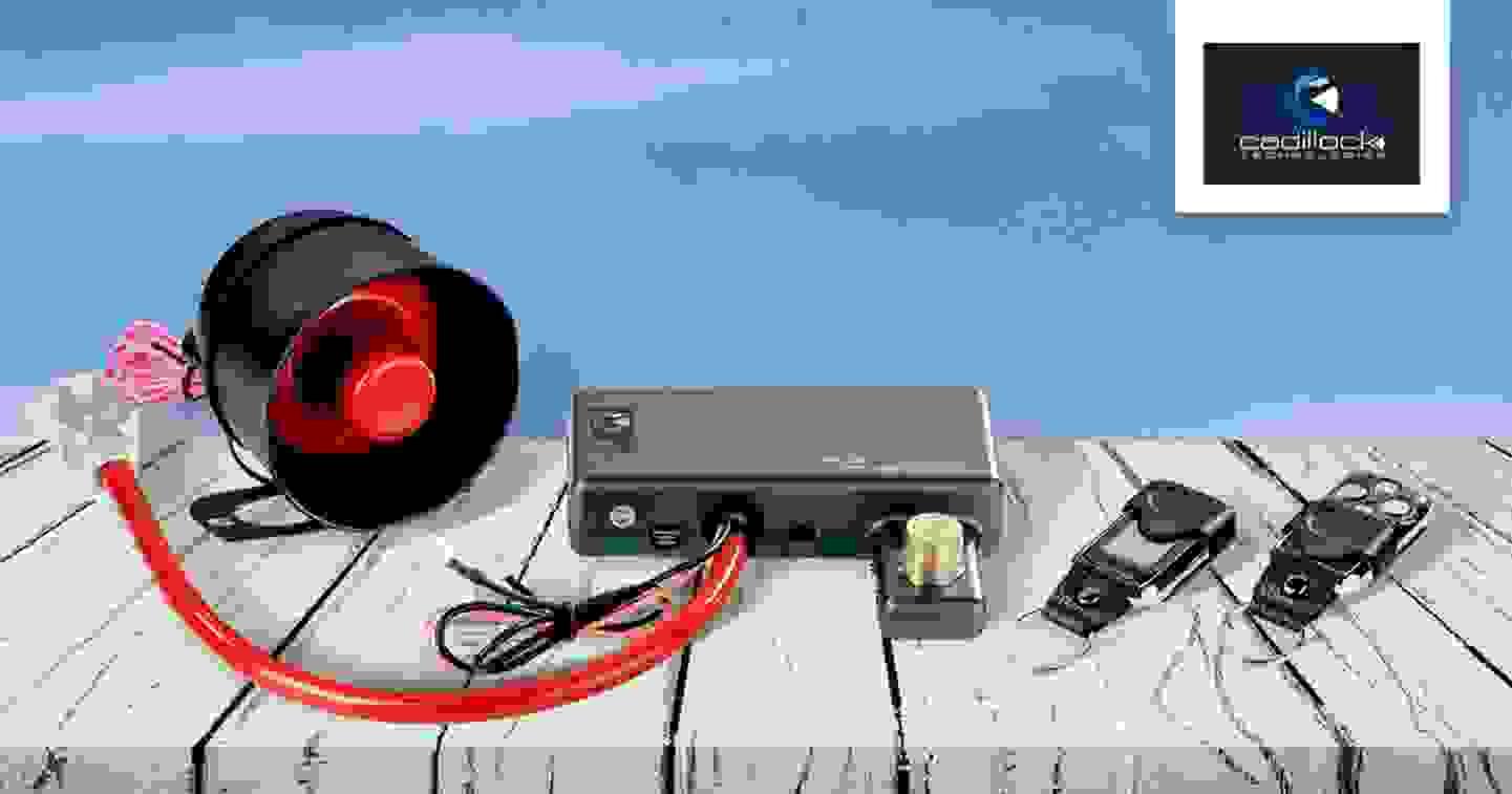 Cadilock - Système d'alarme auto