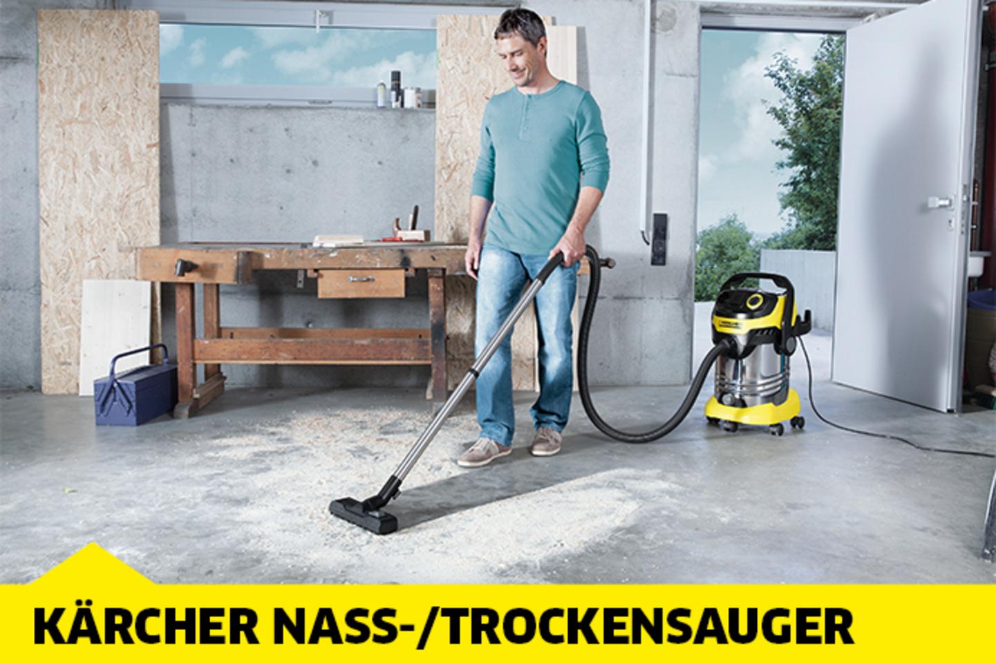 Kärcher Nass-/Trockensauger