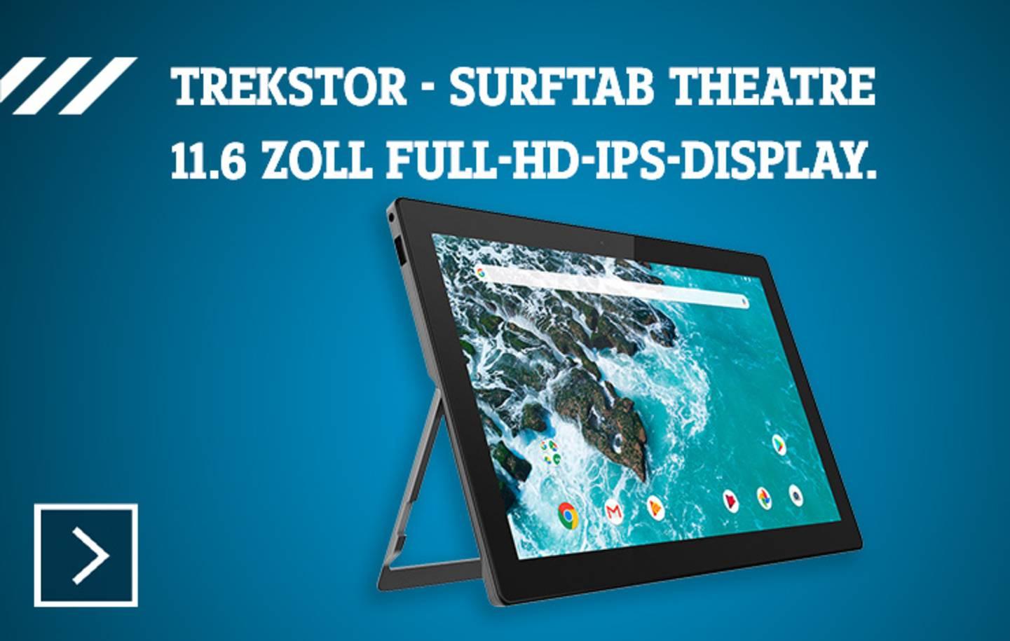 Trekstor - SurfTab Theatre »
