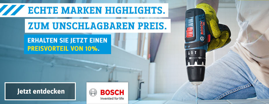 Bosch 10% Aktion