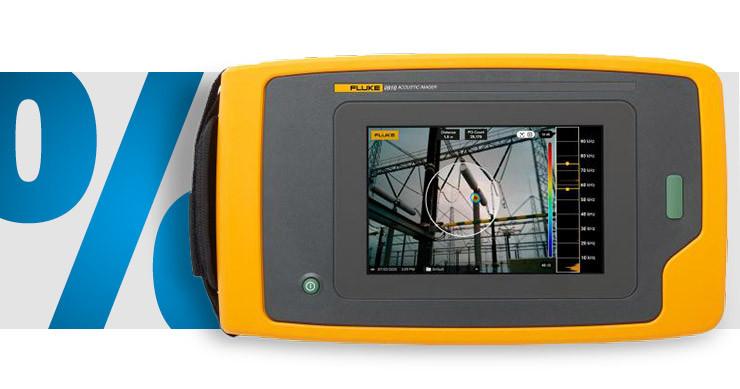 Fluke - Schallkamera 2 Hz - 100'000 Hz