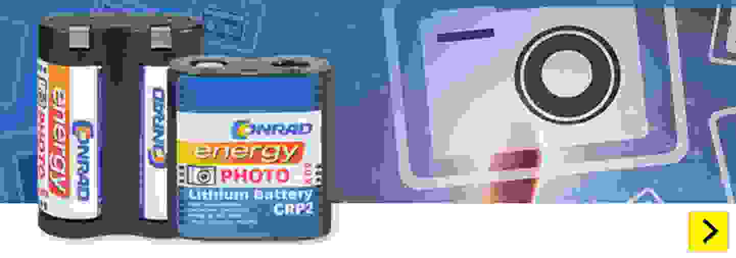 Conrad Energy - Fotobatterien »