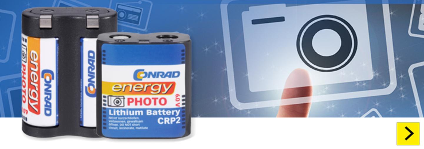 Conrad Energy - Piles pour appareil photo »