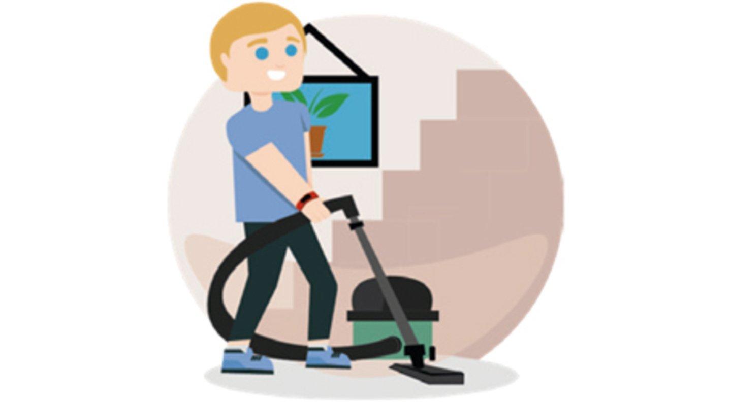 Haushalts-Workout