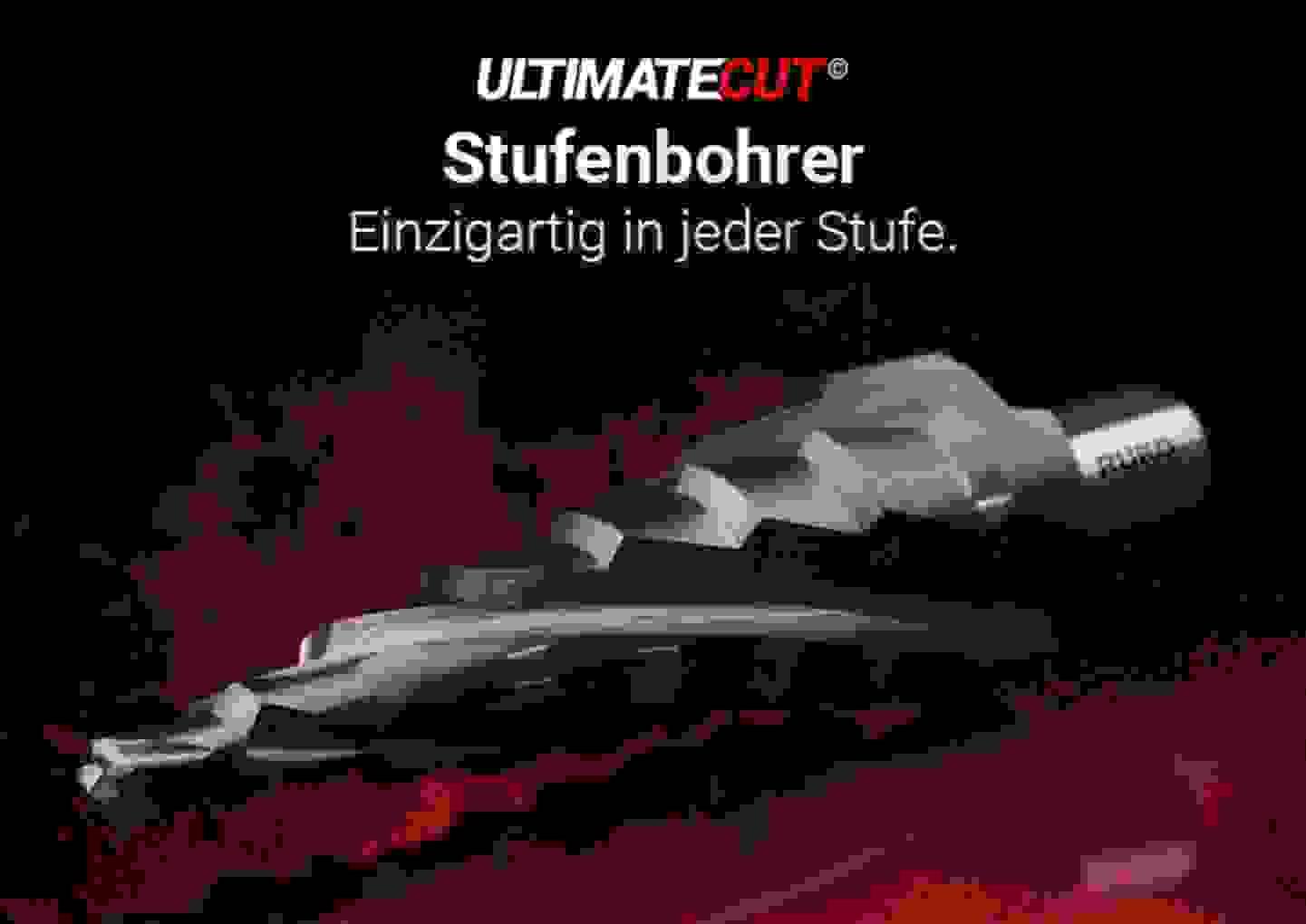 UltimateCut Stufenbohrer