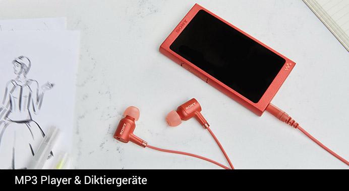 Sony MP§ Player & Diktiergeräte