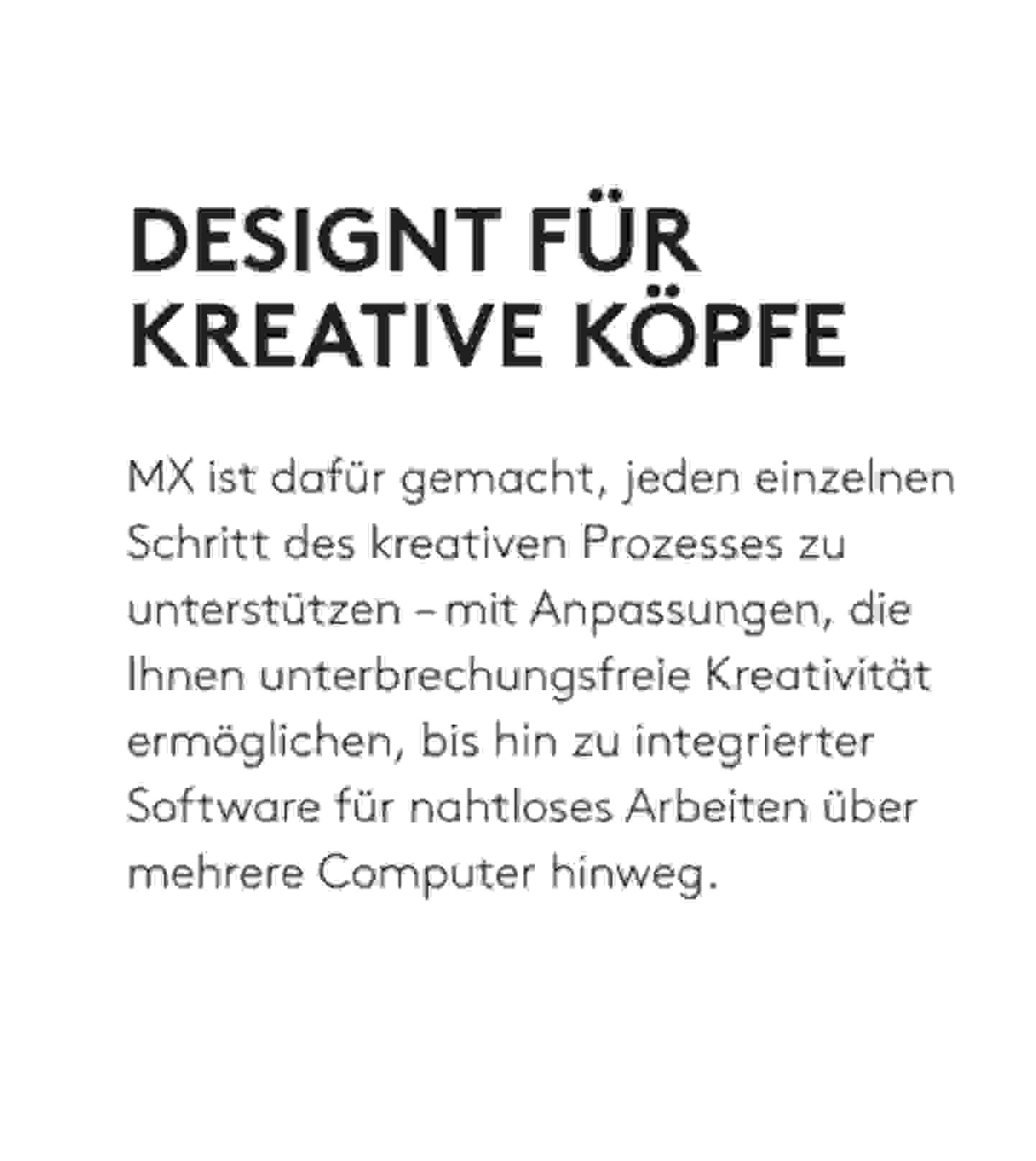 Designt für kreative Köpfe