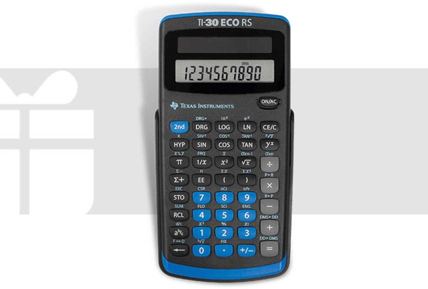 Texas Instruments - TI-30 ECO