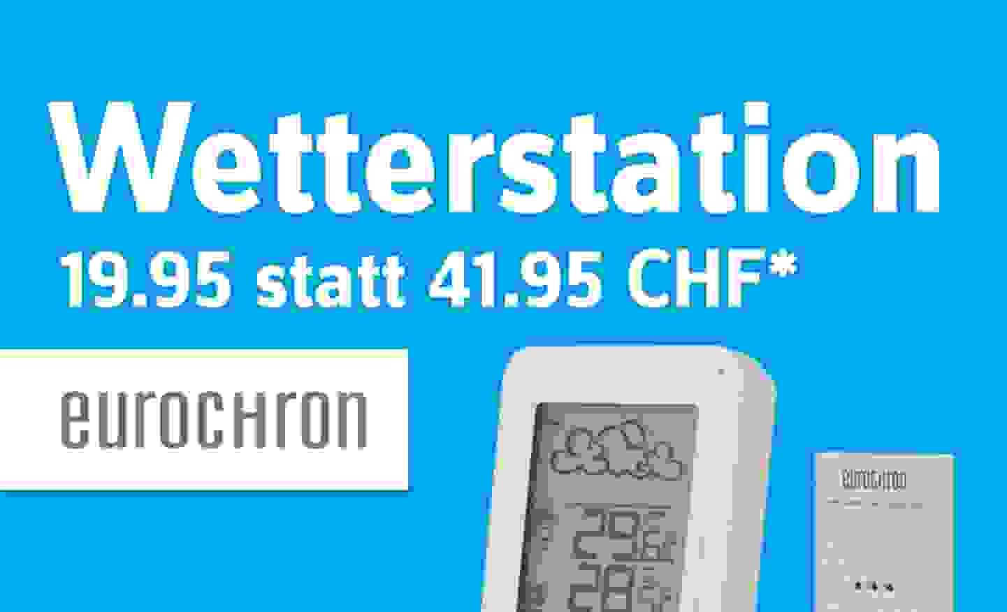 Wetterstation - Nur 19.95 statt 41.95 CHF