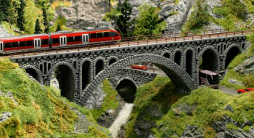 Circuit ferroviaire miniature