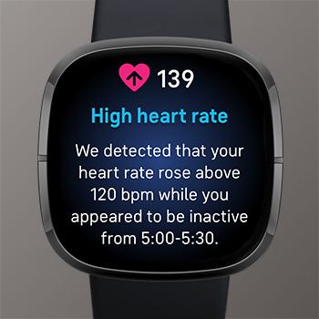 Mitteilungen bei hoher & niedriger Herzfrequenz