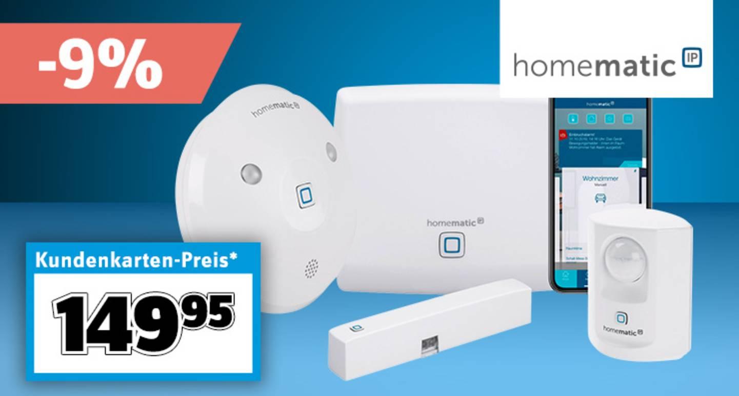 Homematic IP - Starterkit Alarm HmIP-SK7