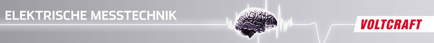 VOLTCRAFT elektrische Messtechnik Header