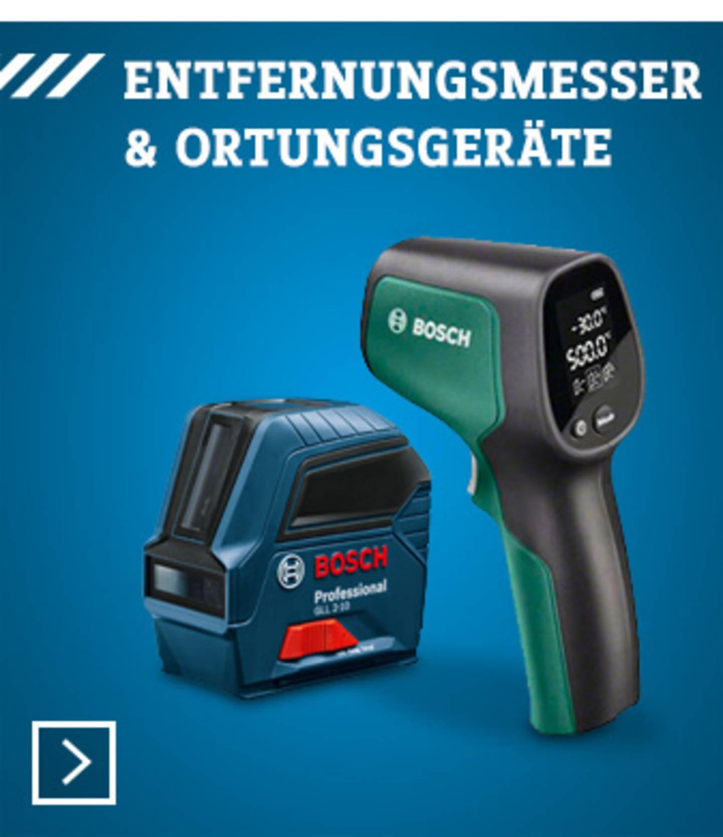 Bosch Ortungsgeräte und Entfernungsmesser