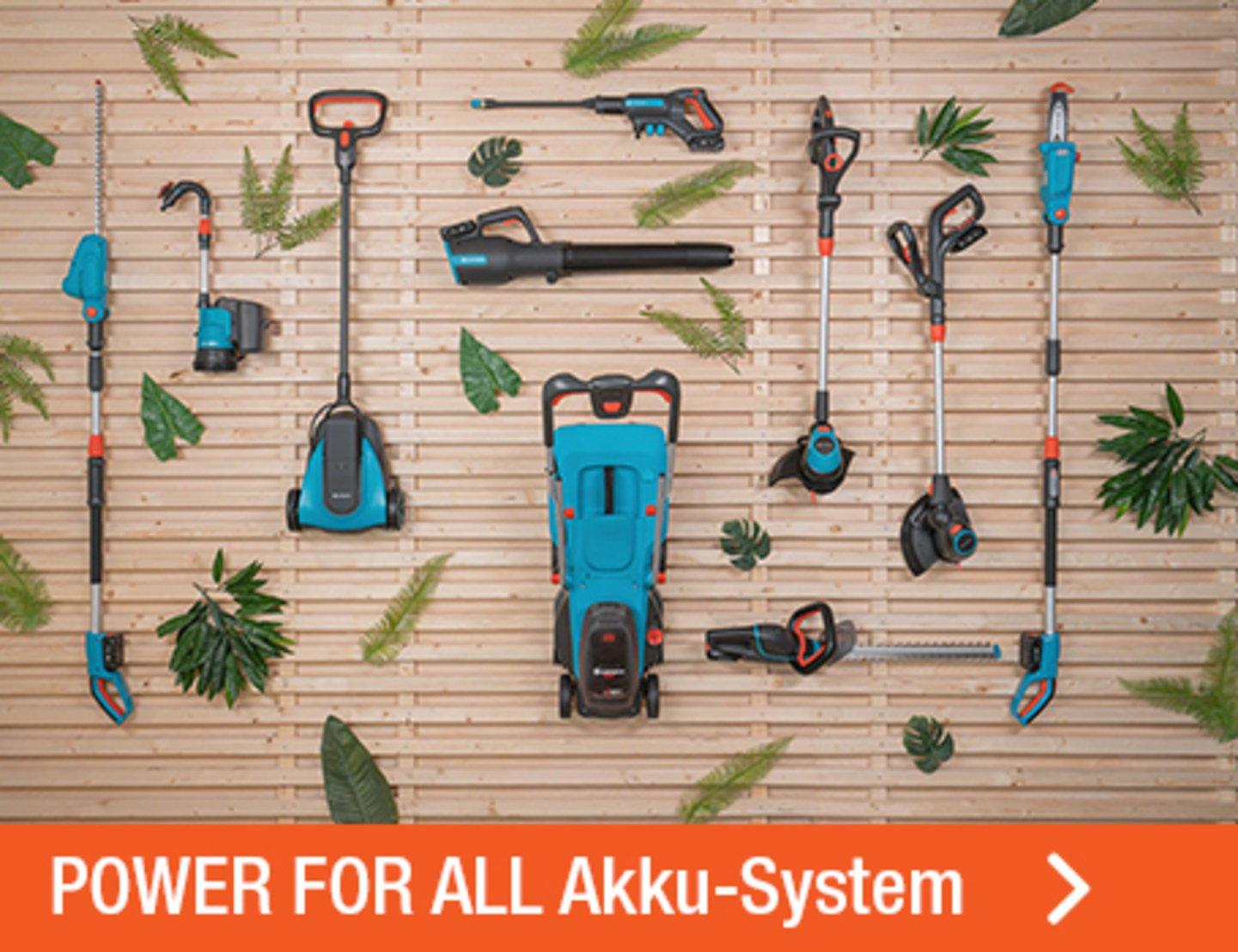 POWER FOR ALL Akku-System