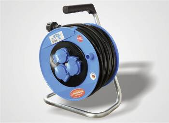Cable drums with IP44