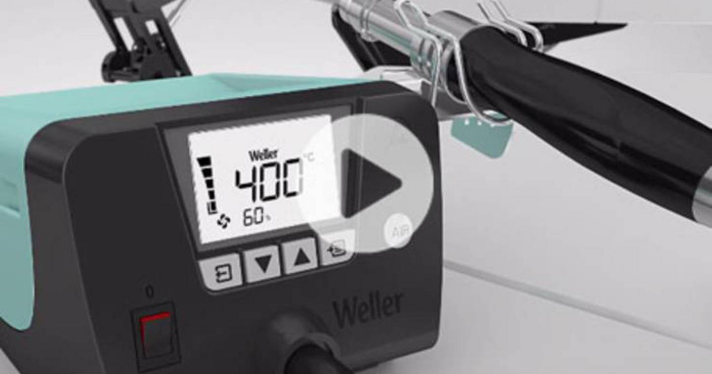 Weller WT 1 - Video »