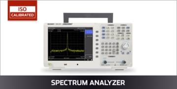 VOLTCRAFT Spectrumanalyzer ISO kalibriert