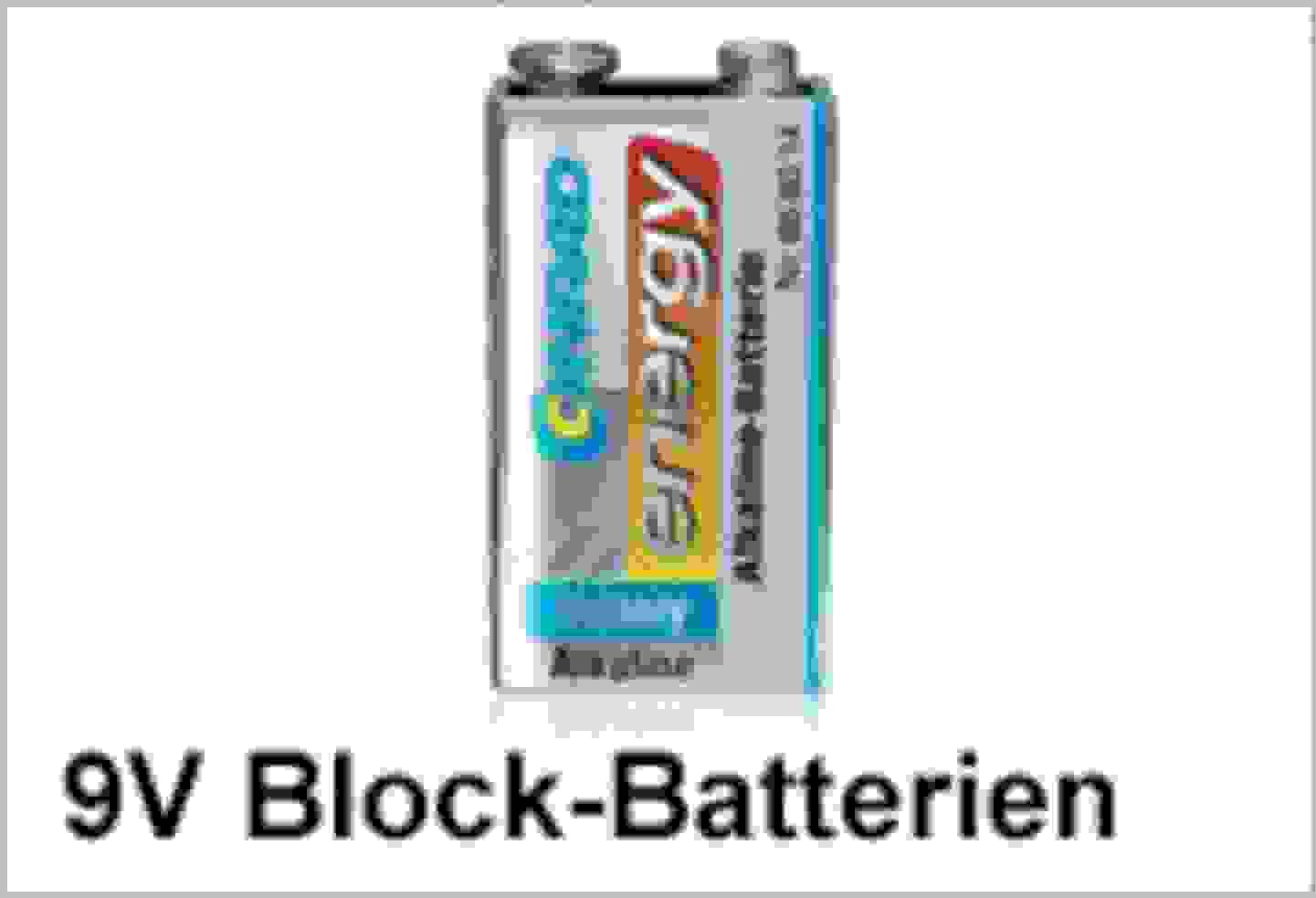 Conrad Energy 9V Block-Batterien
