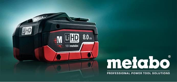 metabo: LiHD – Höchstleistung braucht kein Kabel.
