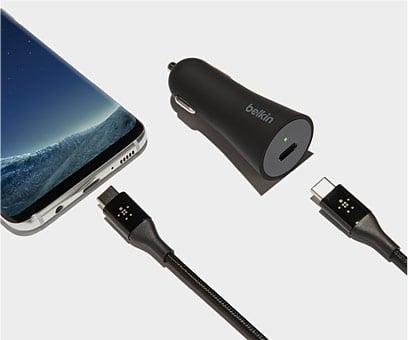 USB-C-Ladegeräte und -Kabel