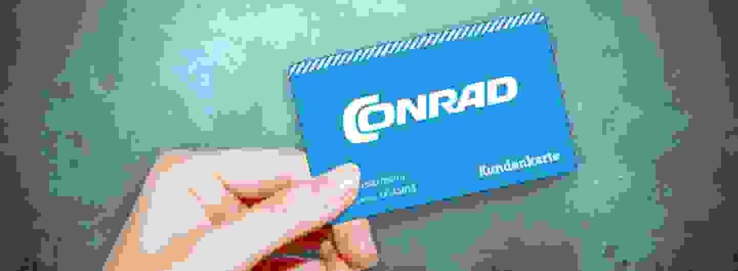 Conrad Kundenkarte