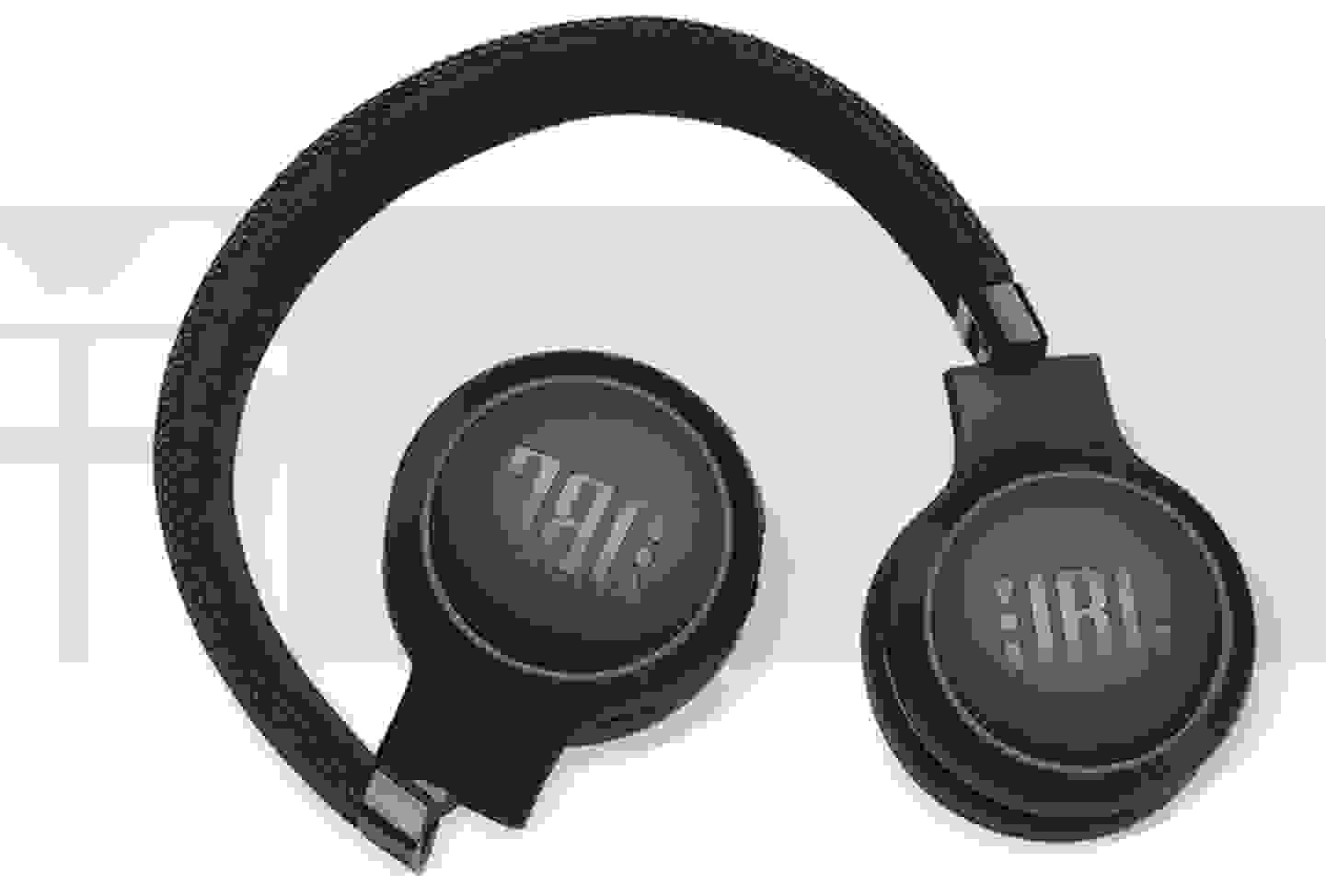 JBL Harman - Bluetooth®, kabelgebunden HiFi Kopfhörer On Ear Faltbar, Noise Cancelling, Lautstärkeregelung Schwar