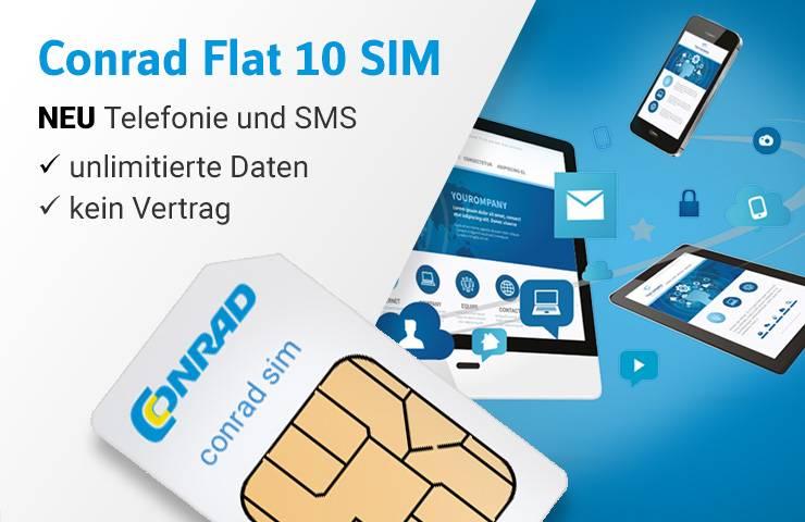Die unlimitierte Daten SIM-Karte für alle smarten Geräte ►