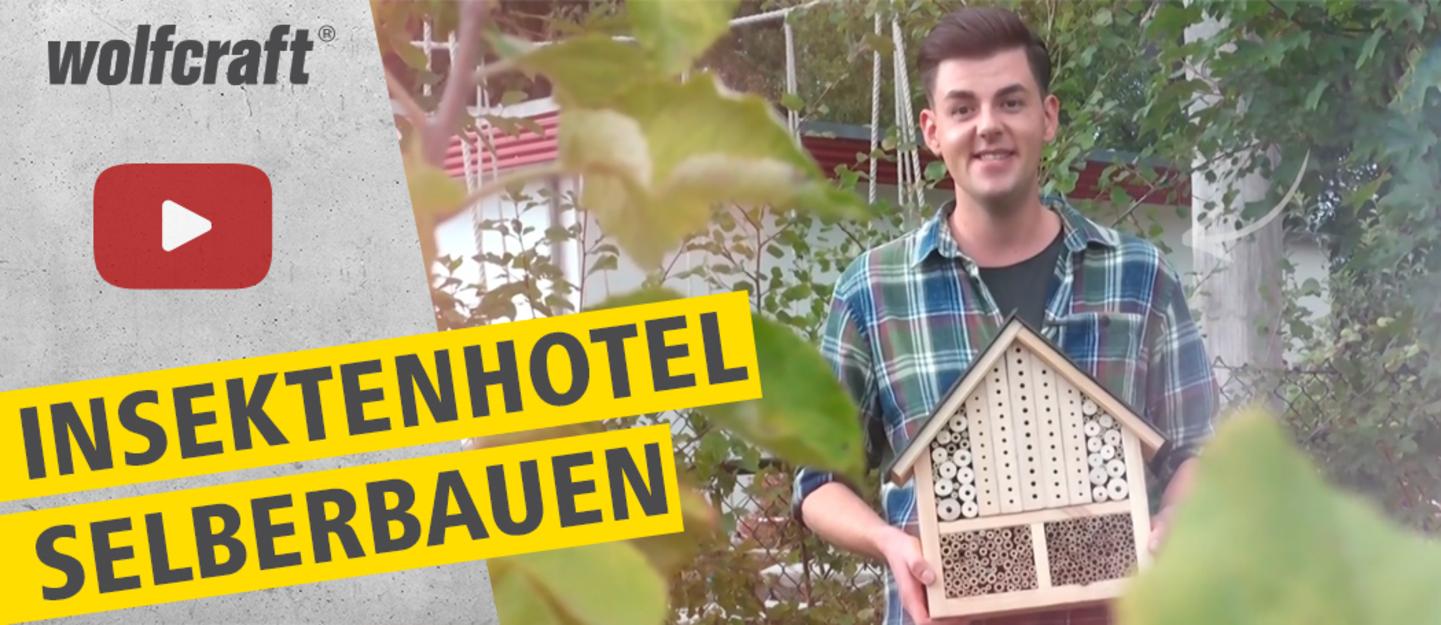 Insektenhotel selberbauen