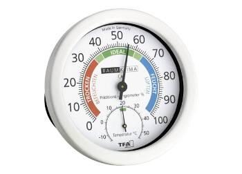 Wand Hygrometer mit Thermometer