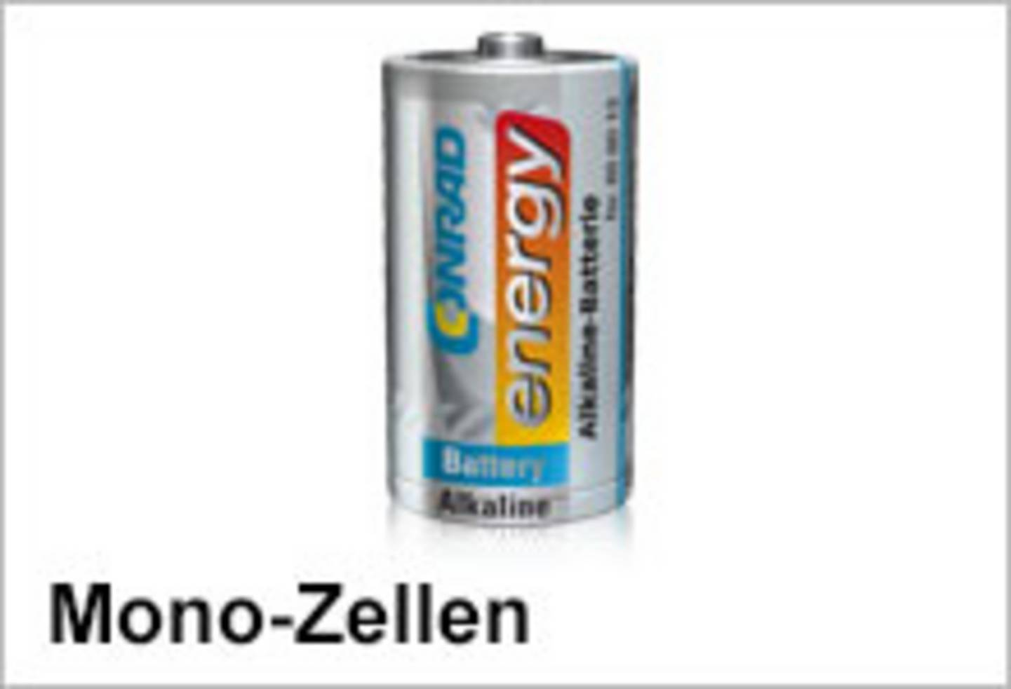 Conrad Energy Mono-Batterien