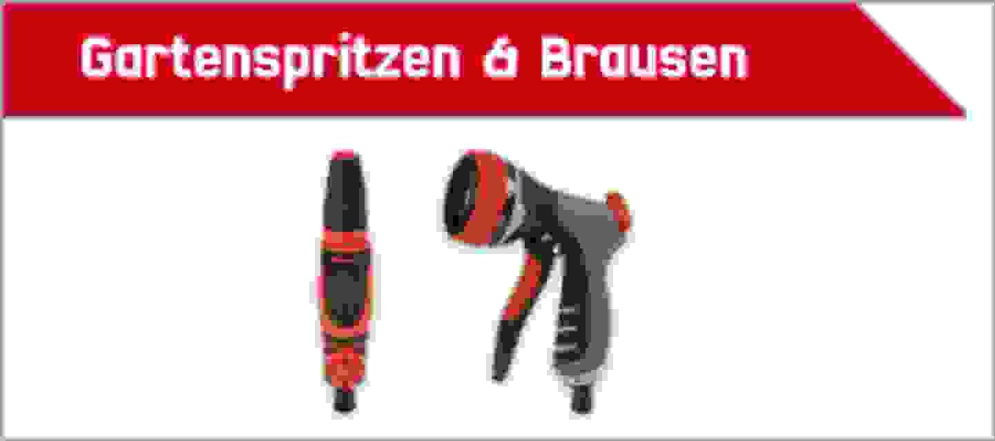 TOOLCRAFT Gartenspritzen & Brausen