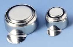 Zink-Luft-Knopfzellen mit Aufkleber