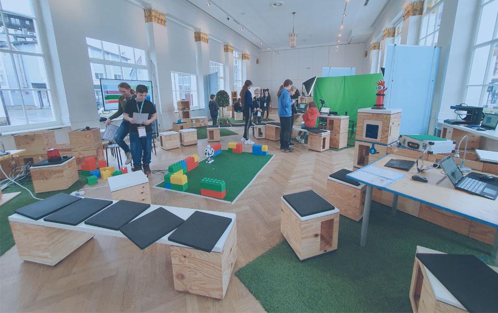 Otelo Futurespace - the digital playground