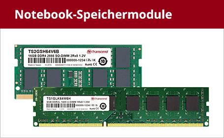 Notebook-Speichermodule