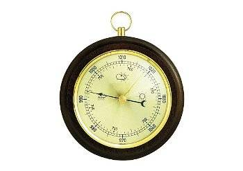 Barometer mit Holz für den Innenbereich
